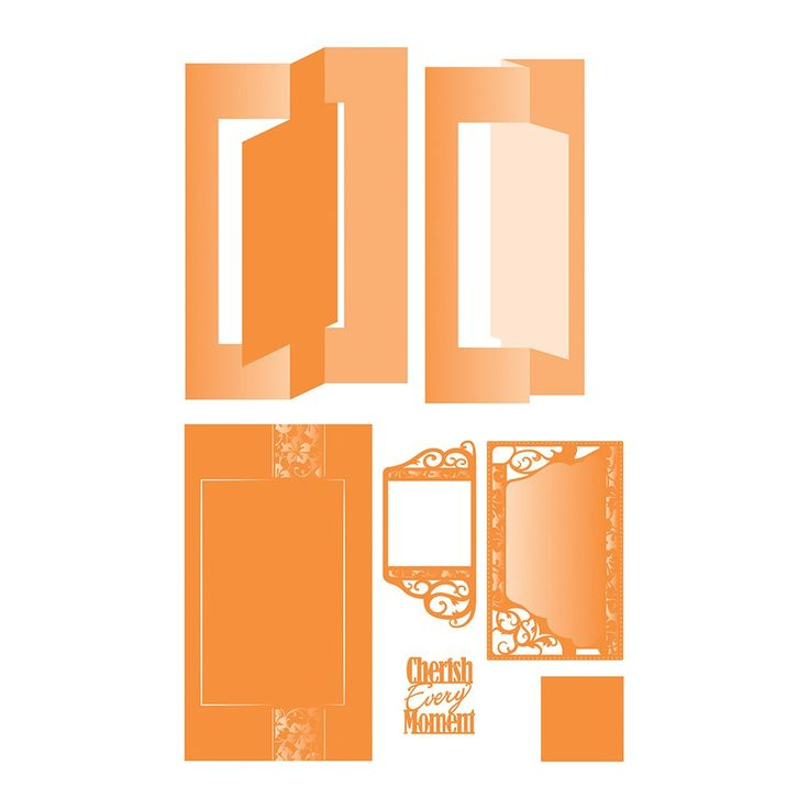Flip Flop Die Set – Cherish Every Moment – 1116E – Tonic Studios USA