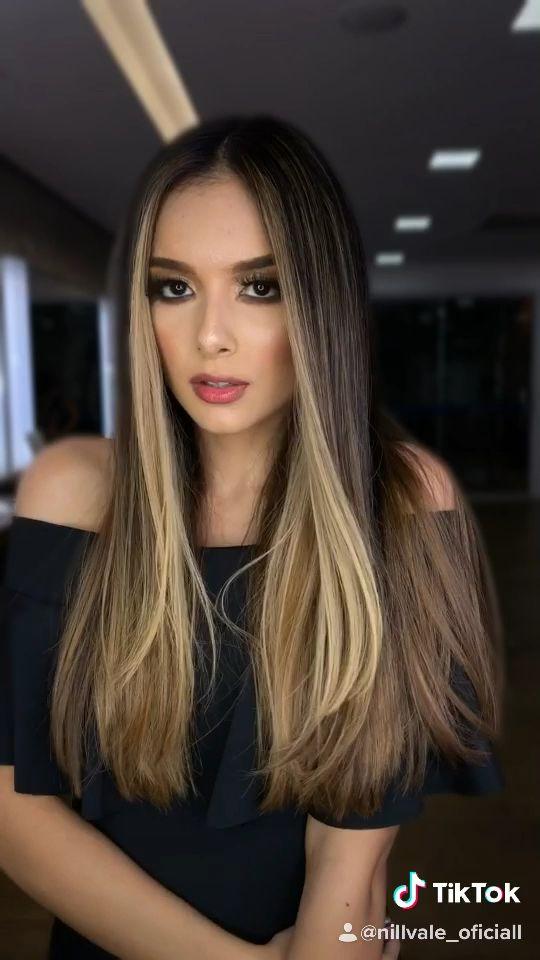 #morenas #hair #hairstyles #maranhao #haircolor #cabelos #cabeloslongos #cabelossaudaveis