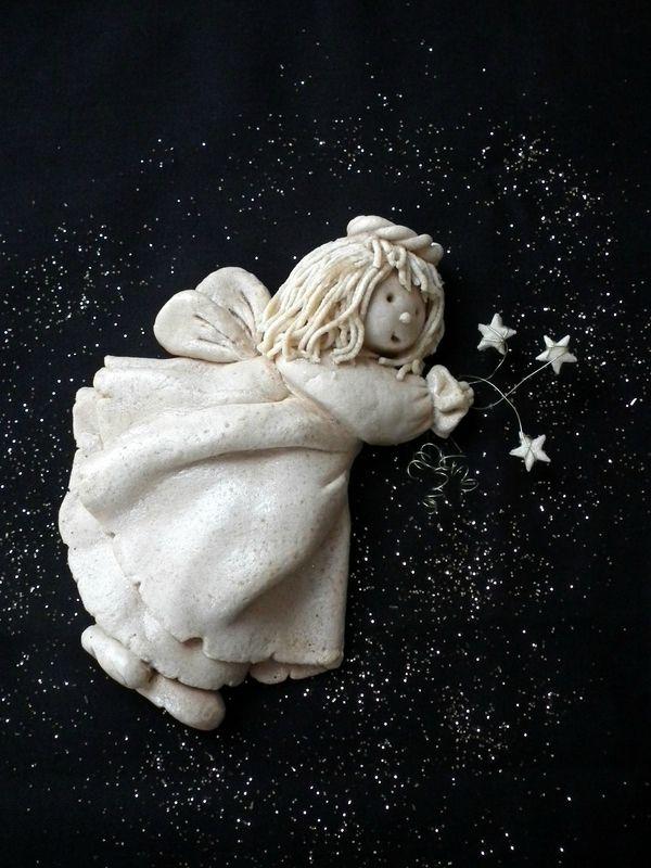 Pâte à sel : La petite fée de Noël