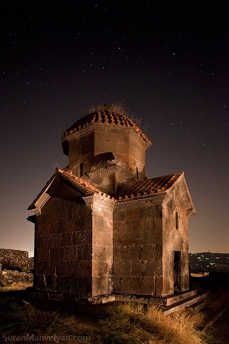 Nightscapes of Armenian Spirit