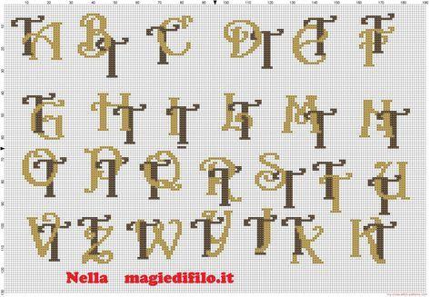 Iniciales letras entrelazadas T