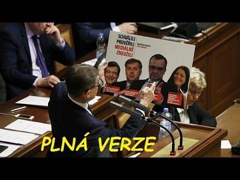 Poslanecká sněmovna: Kauza Čapí hnízdo (23.3.2016) komplet