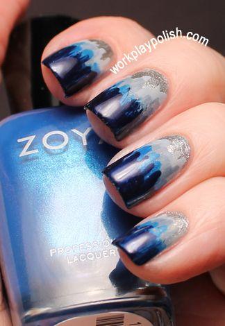 Dip Dye Nail Art