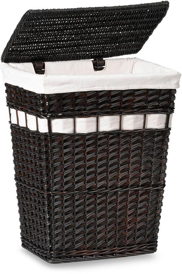 White Bathroom Laundry Storage 12 best bathroom: hamper & shower images on pinterest | hampers