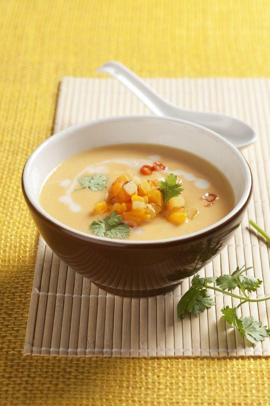 Recept: Pikantní bramborovo-dýňová polévka | iGurmet.cz