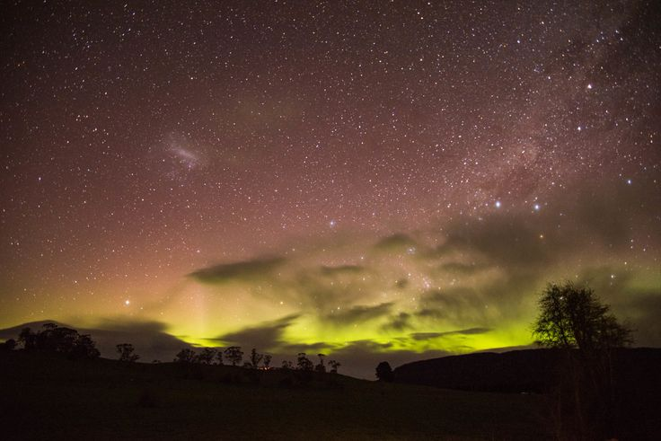 Aurora Australis (Southern Lights), taken in Deloraine, Tasmania, by EVM Pet and Nature Photography