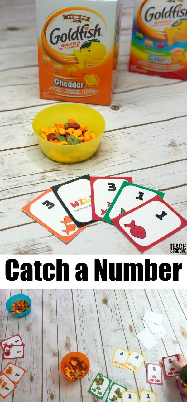 29397 best kindergarten math images on pinterest for Gold fish card game