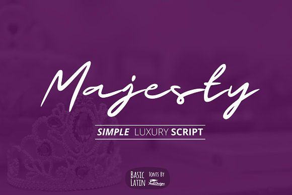 Majesty Luxury Font by YandiDesigns on @creativemarket
