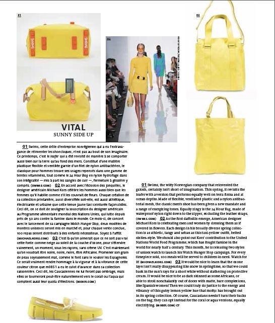 #m0851 #PlasirDeserveMagazine #2013 #bags #lemon