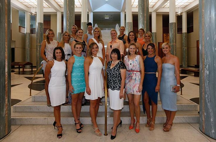 Our @AussieDiamonds have glammed up for the Australian Netball Awards. You'd never guess they just finished camp!