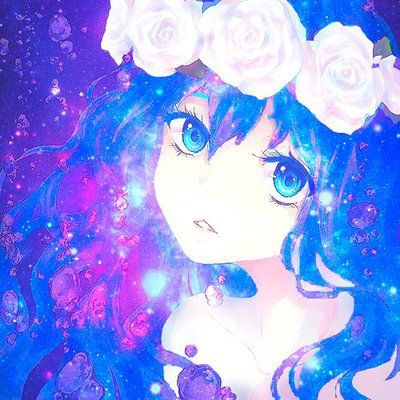 Image result for galaxy girl | Anime galaxy, Anime