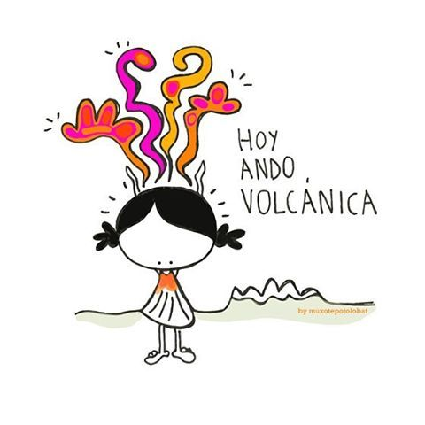 Hoy ando... ¡volcánica!!! Aouuuuuu!!! #EeeeegunonMundo!!
