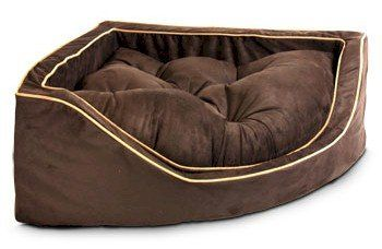 Snoozer Luxury Corner Cat Bed, Small, Pink/Pink * Startling Review  Available Here