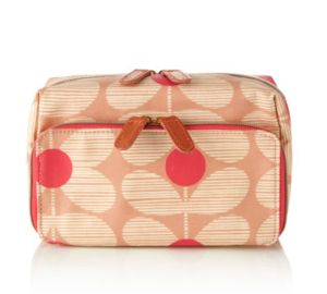 Orla Kiely Wash Bag - Cosmetic Bag for all your make-up needs