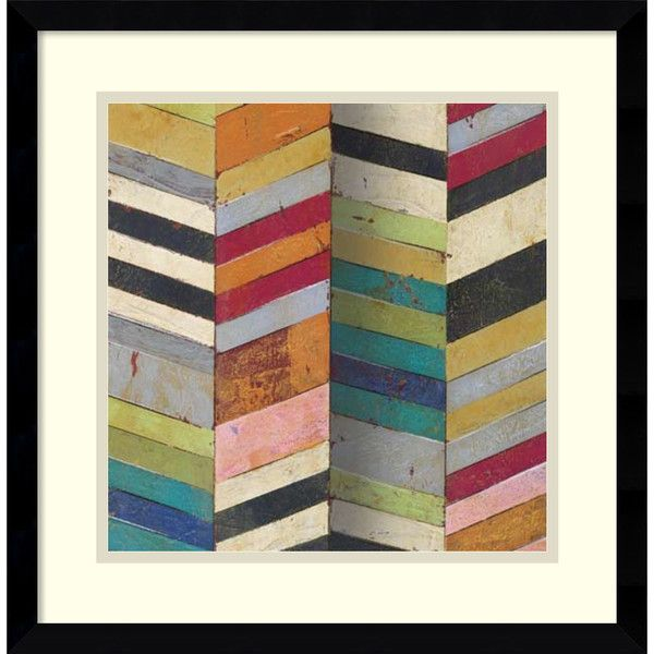 Susan Hayes Racks & Stacks II 17x17-inch Framed Art Print ($85) ❤ liked on Polyvore featuring home, home decor, wall art, black, outside wall art, framed abstract wall art, outside home decor, abstract wall art and abstract home decor
