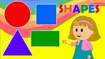 Actividades para Educación Infantil: Formas y colores en inglés KIDS CAMP