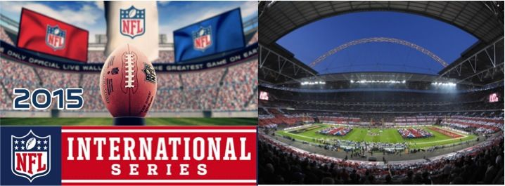 Wembley Stadium is gearing up for the National Football League 2015 International Series, kicking off in London on Sunday Oct 4th with three fantastic games over the next few weekends featuring some of the most passionate rivalries in the sport.   Visit our website for NFL 2015 game schedule, best hotel deals and directions to the Wembley Stadium.