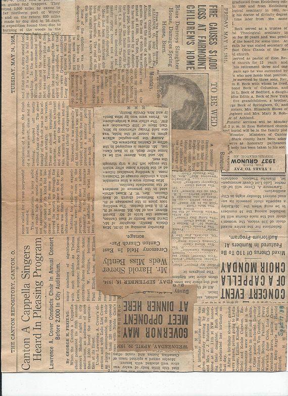 2 Digital Print Outs Vintage Newspaper Compilations Journal Art Journal Elements Paper Art Colla Latar Belakang Ilustrasi Fotografi Abstrak
