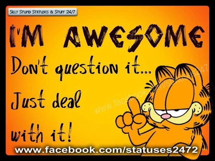 Garfield ha ha ha
