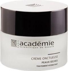 Crème Onctueuse is een ideale verzorging voor een huid met een tekort aan talg én die gehydrateerd moet worden. De huid voelt weer prettig aan, trekt niet meer en is zacht. #academiescientifiquuedebeaute