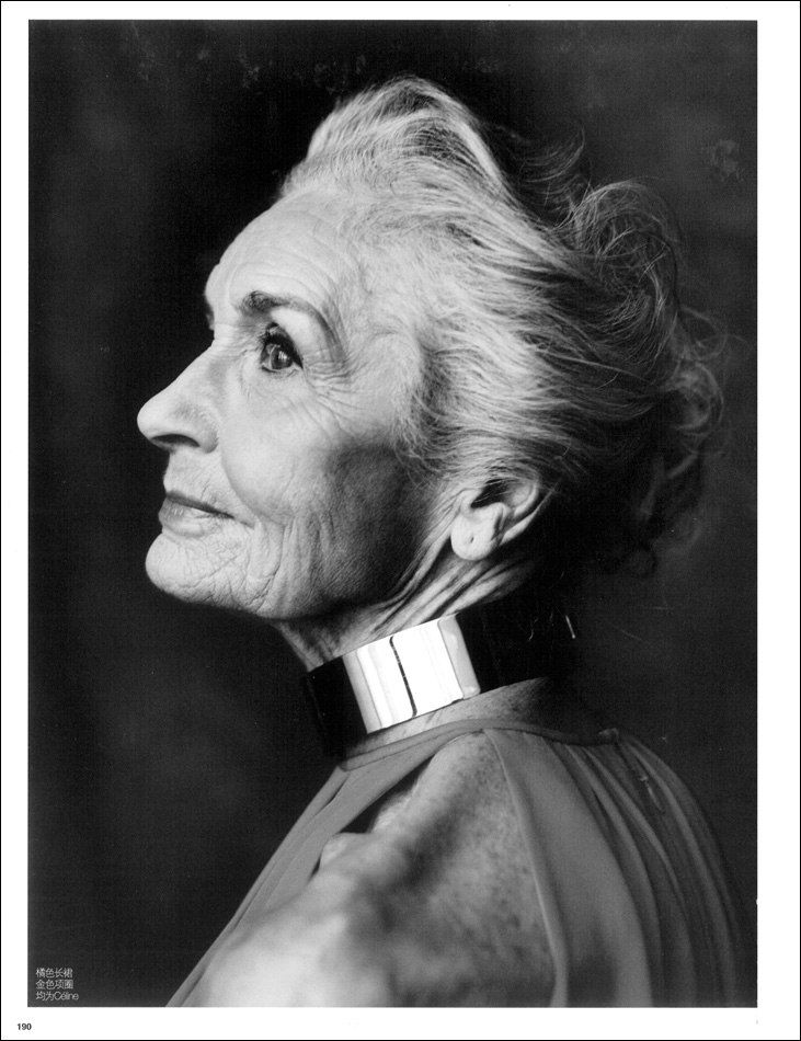 Gorgeous photo of Daphne Selfe (1928) - Still in demand as a top model by the…