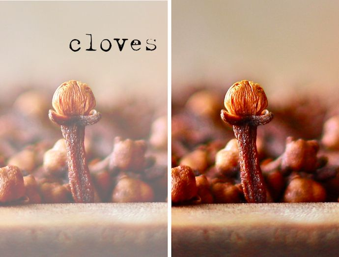 Cloves are filled with the essential oil, Eugenol, which can help detoxify the body. Cloves can also soothe abdominal pain, increase circulation, and aid in digestion.