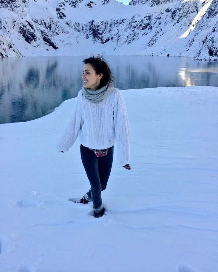 """Poppy Drayton on Instagram: """"nature is not a place to visit. it is our home. ❄️☃️"""""""