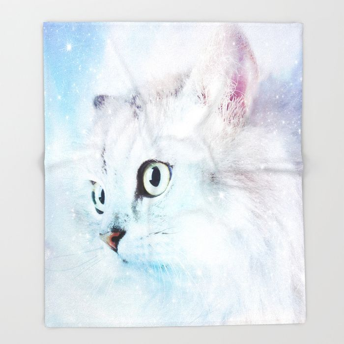 CYBER MONDAY - UP TO 40% OFF + FREE SHIPPING ON MOST ITEMS - ENDS TONIGHT AT MIDNIGHT PT!Buy Fluffy starry cat Throw Blanket by augustinet. Worldwide shipping available at Society6.com. Just one of millions of high quality products available.