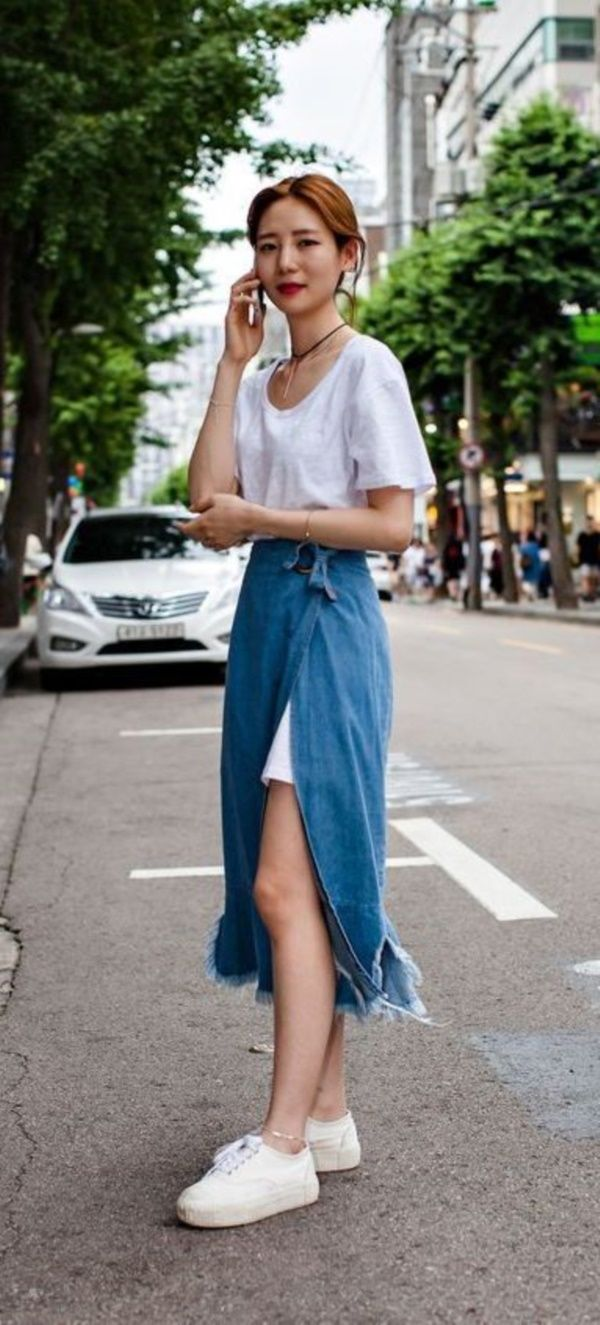 Street Korean style summer photo