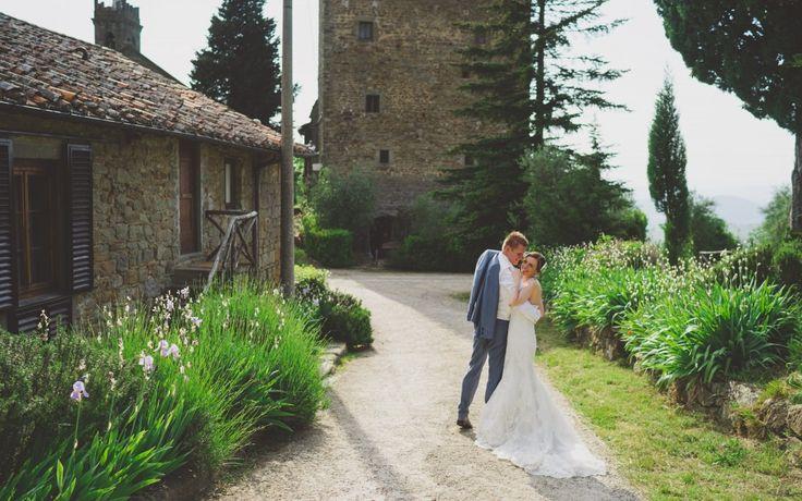 Rustikale Landhaushochzeit in der Toskana - Hochzeit in Italien