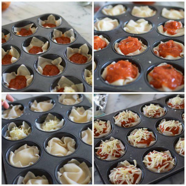 Lasagne Cupcakes Recipe | Pamela Salzman & Recipes