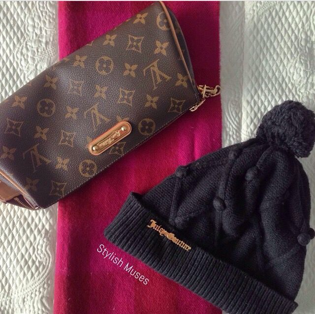 Winter is almost here and it's time to keep warm! Louis Vuitton, Juicy Couture & Burberry is the way to go!