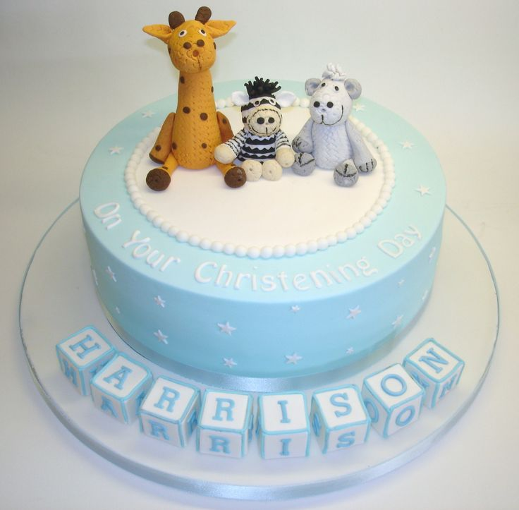 - Christening cake.