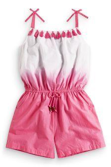 Pink Dip Dye Playsuit (3-16yrs)