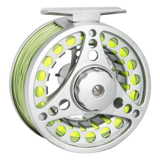 AnglerDream 1//2 3//4 5//6 7//8WT Fly Reel Large Arbor Aluminum Fly Fishing Reels