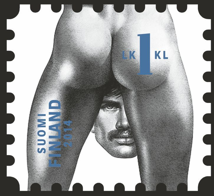 "Finland 1kl (1st class domestic mail) ""Tom of Finland""."