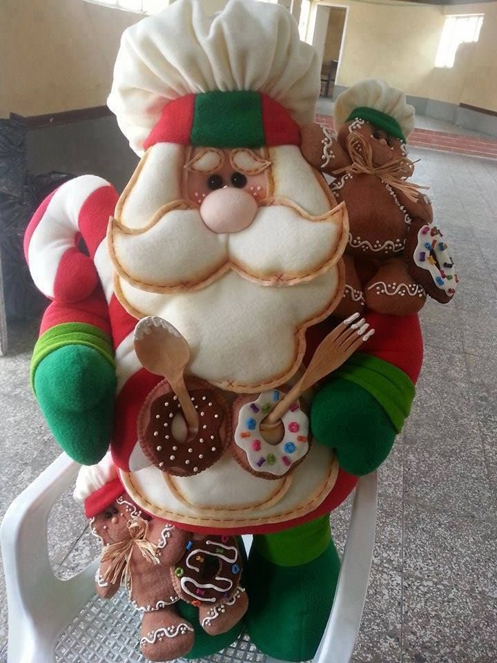 santa pastelero