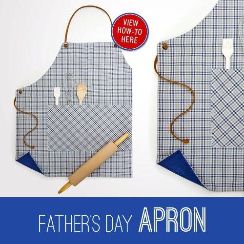Father's #Day DIY Apron How-To! #Tutorial  http://on.fb.me/NtzjipCrafts Ideas, Daddy Diy, Ntzjip, Diy Gift, Dad Gifts, Diy Aprons, Dads Gift, Daddy'S O', Fathersday Dads
