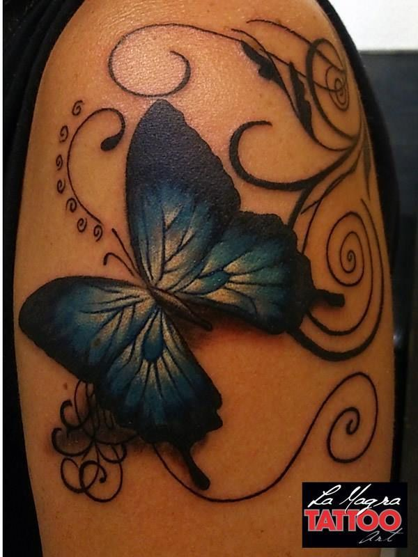 #butterfly #tattoo