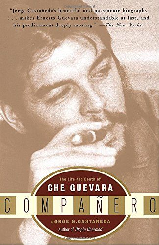 """Companero: The Life and Death of Che Guevara:   By the time he was killed in the jungles of Bolivia, where his body was displayed like a deposed Christ, Ernesto """"Che"""" Guevara had become a synonym for revolution everywhere from Cuba to the barricades of Paris. This extraordinary biography peels aside the veil of the Guevara legend to reveal the charismatic, restless man behind it.brbrDrawing on archival materials from three continents and on interviews with Guevara's family and associat..."""