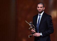 """SPORTS AWARDS 2014 : Kariem Hussein a été désigné """"newcomer"""" de l'année. L'athlète de 25 ans s'est révélé au grand public lors des Européens de Zurich, où il a remporté la médaille d'or du 400 m haies."""