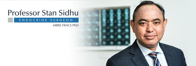 Professor Stan Sidhu is a highly-respected thyroid surgeon. He is both an academic and a practicing endocrine surgeon with procedures offered at Central Coast, NSW.