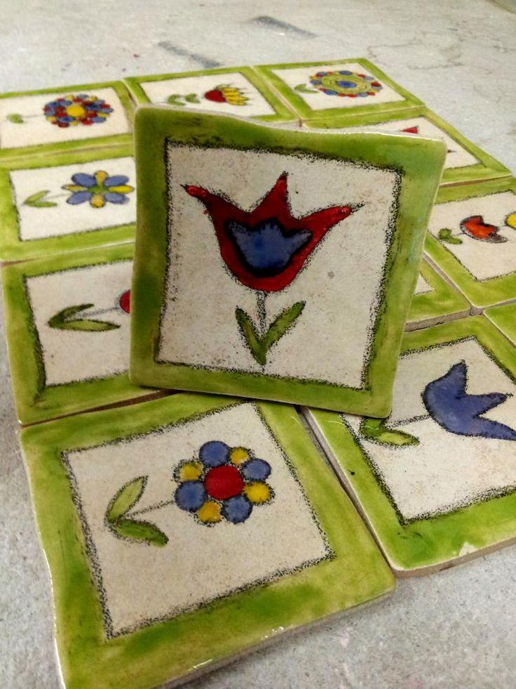 Keramika - Obkladačka Kvetinka 5 - 3447394