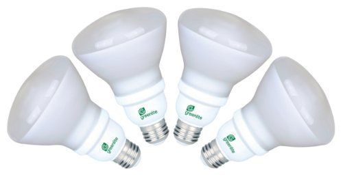 GREENLITE Reflector CFL 15W R30 2,700K 750-Lumen Bulb 4-Pack by Greenlite. $9.99. Greenlite's CFL Reflectors and PARs mimic the shape of traditional halogen light bulbs while incorporating energy-efficient compact fluorescent technology. These energy efficient alternatives are designed to replace incandescent and halogen bulbs used in recessed cans and track lighting in homes, offices, restaurants, schools, hospitals, and retail and hospitality applications. G...