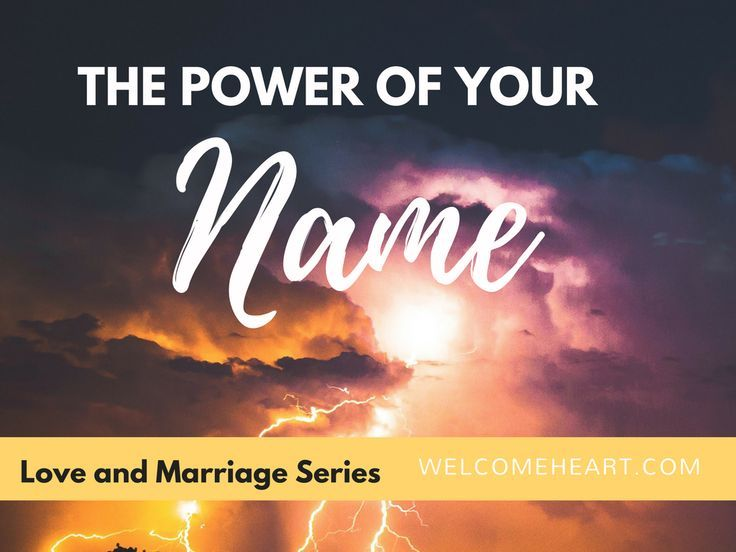 love and marriage series power of your name. #power #nameofJesus #hope #marriage