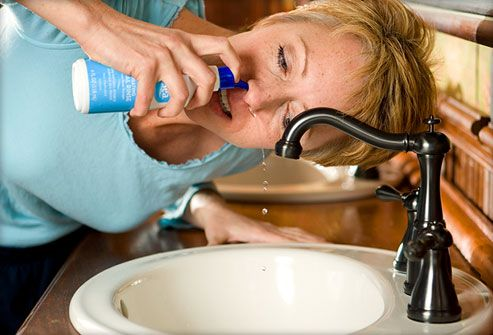 Saltwater Washes (Nasal Saline Lavage or Irrigation) for Sinusitis-Topic Overview