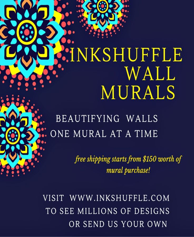InkShuffle is committed to beautify walls one #mural at a time. 855 465 6648 or help@inkshuffle.com for orders and inquiries about our wall decors.