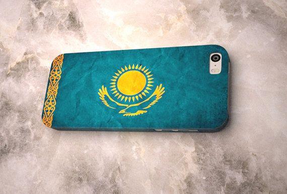 kazakhstan flag kazakh symbol iphone case 4 5 4s 5s 5c 6 plus hülle samsung s3 s4 s5 s6 mini wrap gift quote