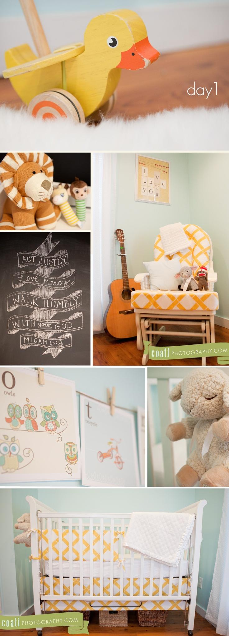 Day1- Neutral Baby Room Love chalkboard Bible verse!;)
