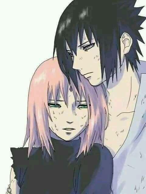 Sasuke and Sakura Uchiha ♥♥♥ #love #couple #war #beautiful #cute #together